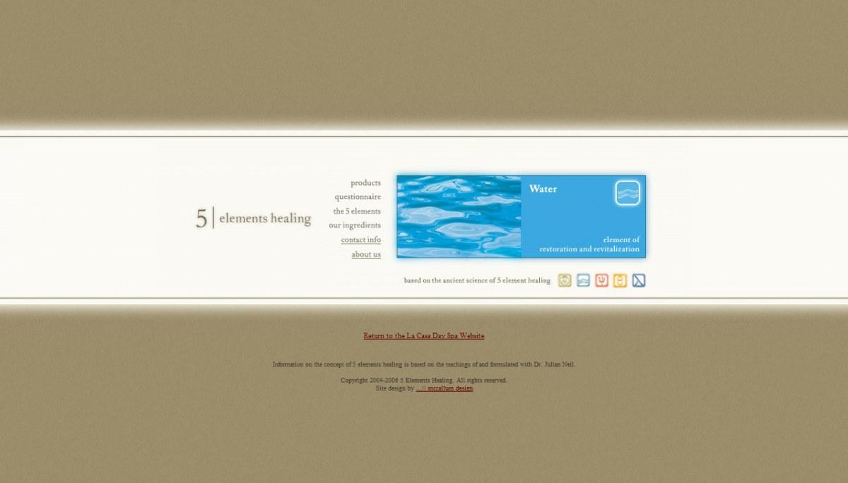 5 Elements Healing dot com